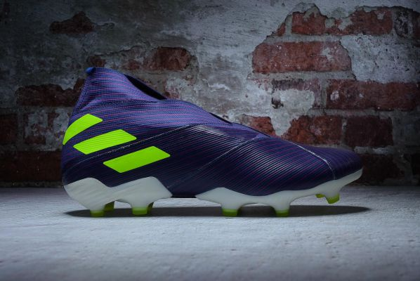 adidas Nemeziz Messi 19+ FG Indigo Green Glory Purple