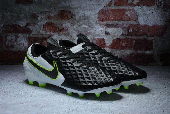 Nike Tiempo Legend 8 Elite FG Black Black White