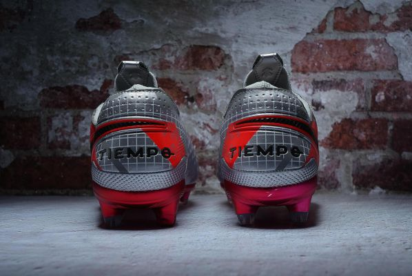 Nike Tiempo Legend 8 Elite FG Metallic Bomber Gray Black Particle Grey