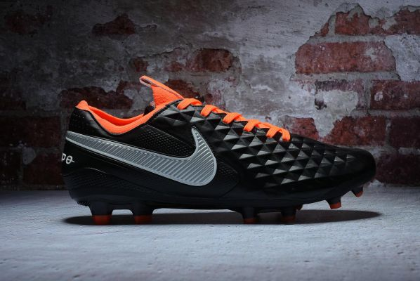 Nike Tiempo Legend 8 Elite Future DNA Black White Orange