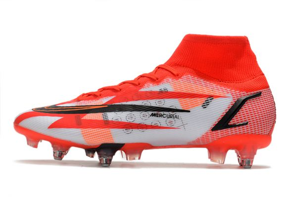 Buy Nike Mercurial Superfly 8 Elite CR7 SG-PRO Chile Red Black Ghost Total Crimson
