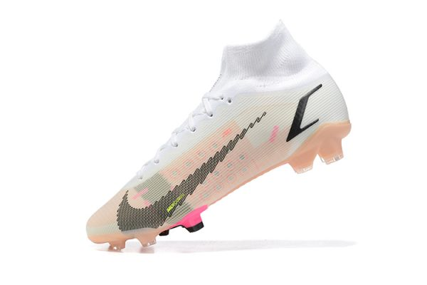 Buy Nike Mercurial Superfly 8 Elite FG White Black Bright Crimson Pink Blast