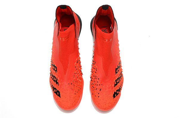 Adidas Predator Freak 'Meteorite' TF Soccer Boots Red Black Solar Red