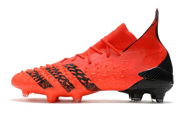 Adidas Predator Freak.1 'Meteorite'FG Soccer Boots Red Black Solar Red