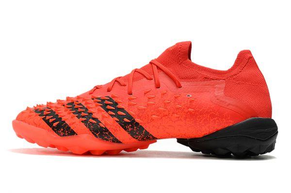 Adidas Predator Freak.1' Meteorite' Low TF Soccer Boots Red Black Solar Red