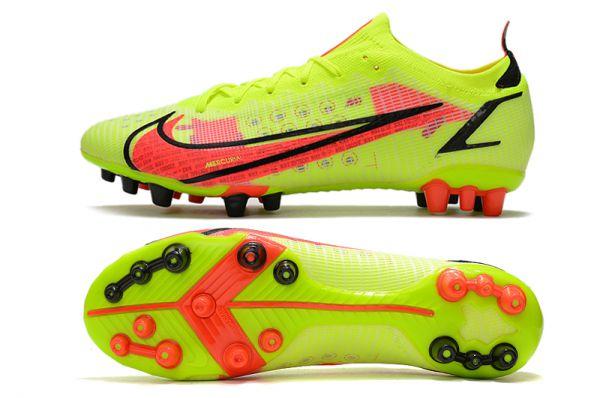Kids Nike Mercurial Vapor 14 'Montivation Pack' AG-PRO Soccer Boots Volt Bright Crimson Black