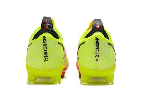 KIds Nike Mercurial Vapor 14 'Montivation Pack' FG Soccer Boots Volt Bright Crimson Black
