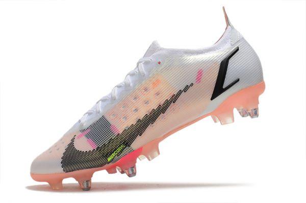 Nike Mercurial Vapor 14 Elite SG-PRO Soccer Boots White Black Bright Crimson Pink Blast