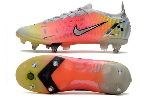Nike Mercurial Vapor 14 Elite SG-PRO Soccer Boots White Metallic Silver Pure Platinum