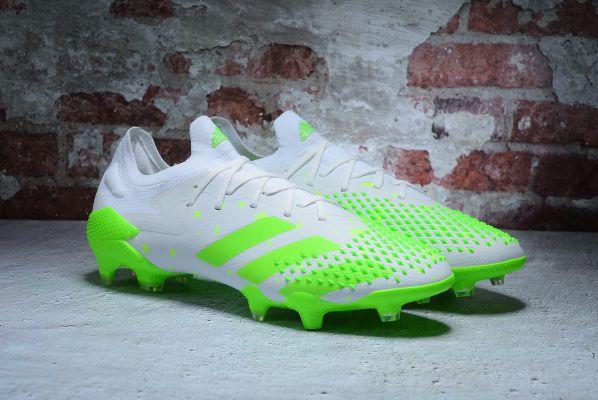 adidas Predator Mutator 20.1 Low FG/AG White Green