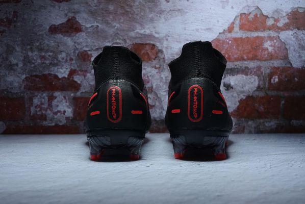 Nike Phantom GT Elite DF FG - Black/Chile Red/Dark Smoke Grey