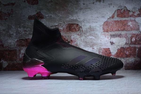 Kids adidas Predator Mutator 20+ FG Black Black Pink