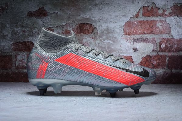 Nike Mercurial Superfly 7 Elite SG-Pro Metallic Bomber Gray Black Particle Grey