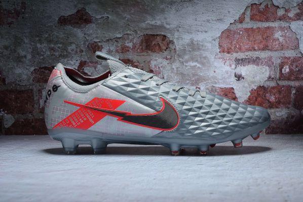 Nike Tiempo Legend VIII Elite FG - Metallic Bomber Grey/Black/Particle Grey