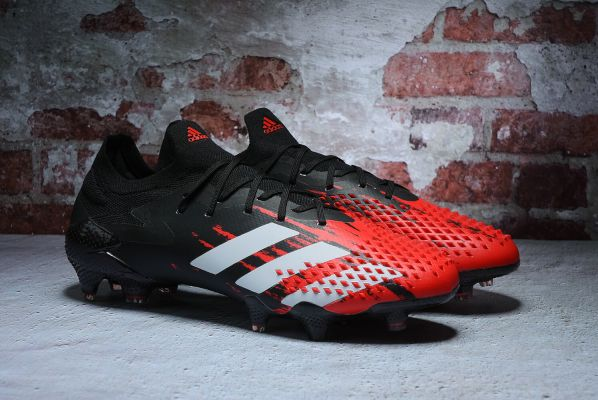 adidas Predator Mutator 20.1 Low FG Core Black White Active Red