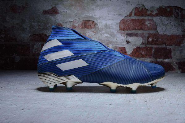 adidas Nemeziz 19+ FG Blue White Core Black
